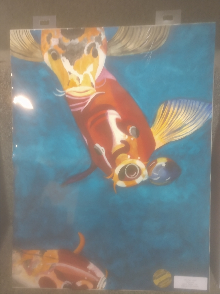 """Koi Fish"" By Denay Pelster"