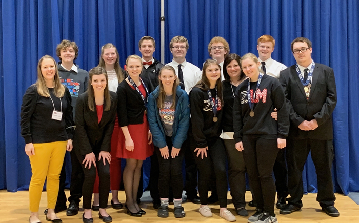 State speech competitors