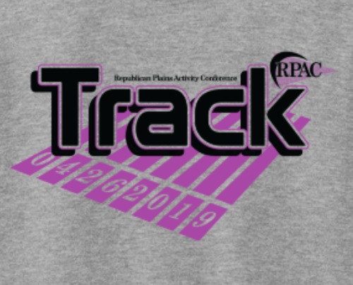 RPAC track shirts front design