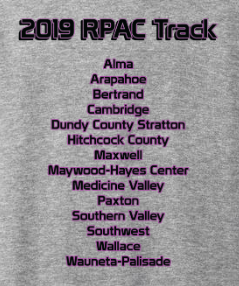 Back design - list of RPAC schools