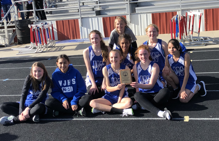 7th grade girls-champions!