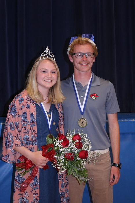 2019 Activities Royalty, Hannah Robertson and Micah Swedberg