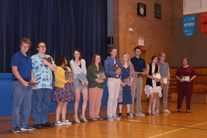 2019 seniors at Honors' Night