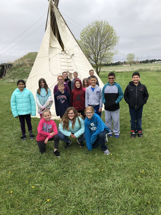 4th grade had an awesome time at Stuhr Museum!