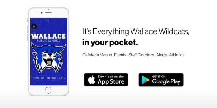 Check out the Wallace Wildcats app!