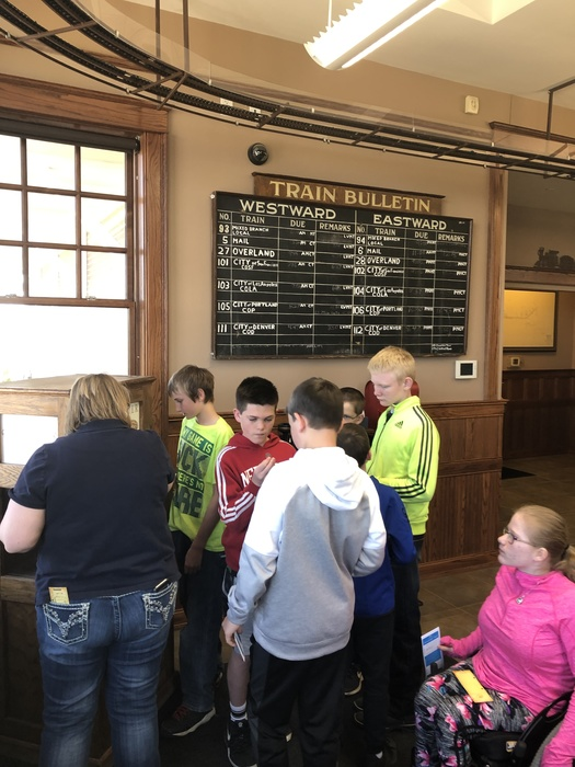 Lots of fun on today's 6th grade field trip to the Rec Center for swimming & sundaes, Cody Park, and the Golden Spike Tower! (part 2)