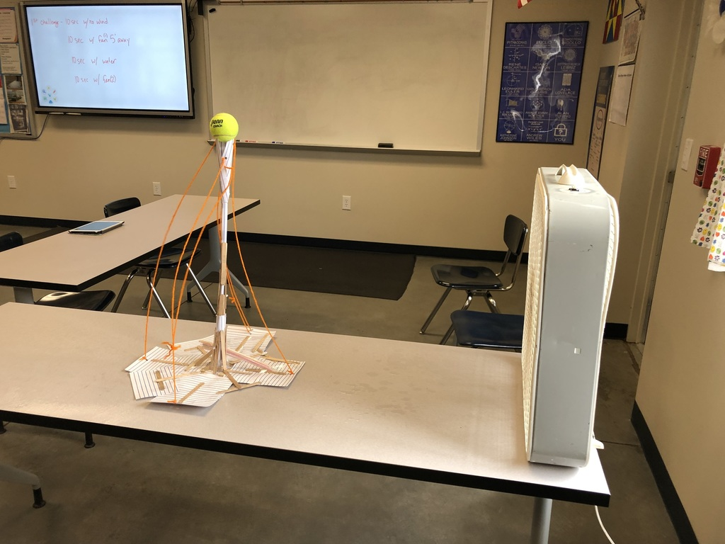 Hurricane tower challenge