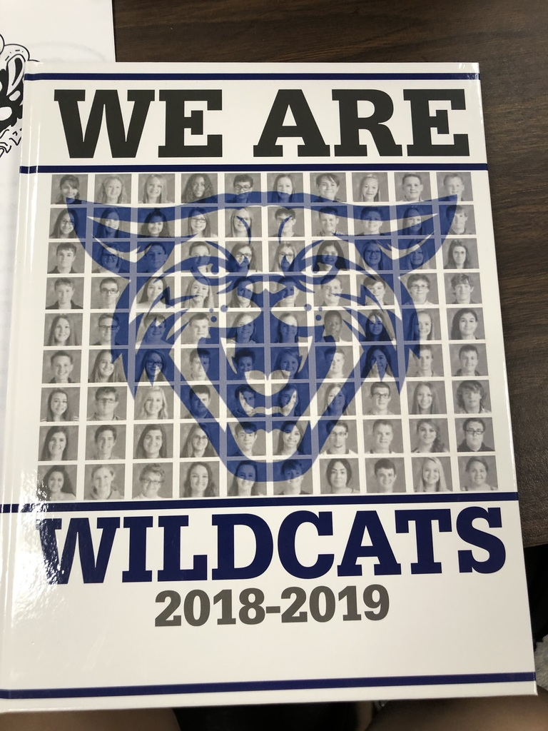 '18-19 yearbook cover