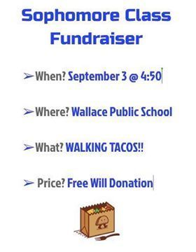 Walking Tacos @ 4:50pm Free Will donation