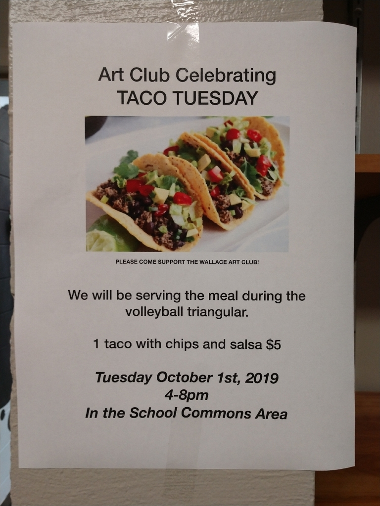 Art Club meal!