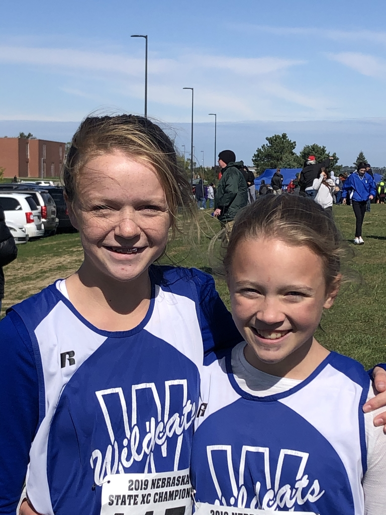 Ryleigh and Ashley at state cross country