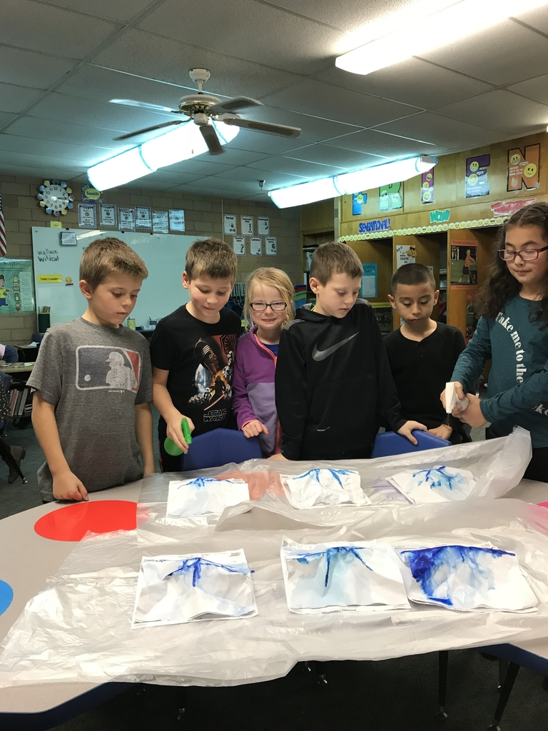 Learning about water and erosion in science!
