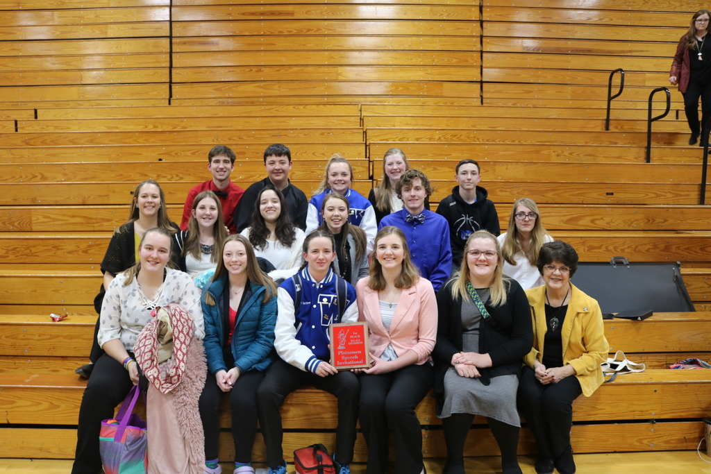 Perkins County Speech Invitational first place class D.