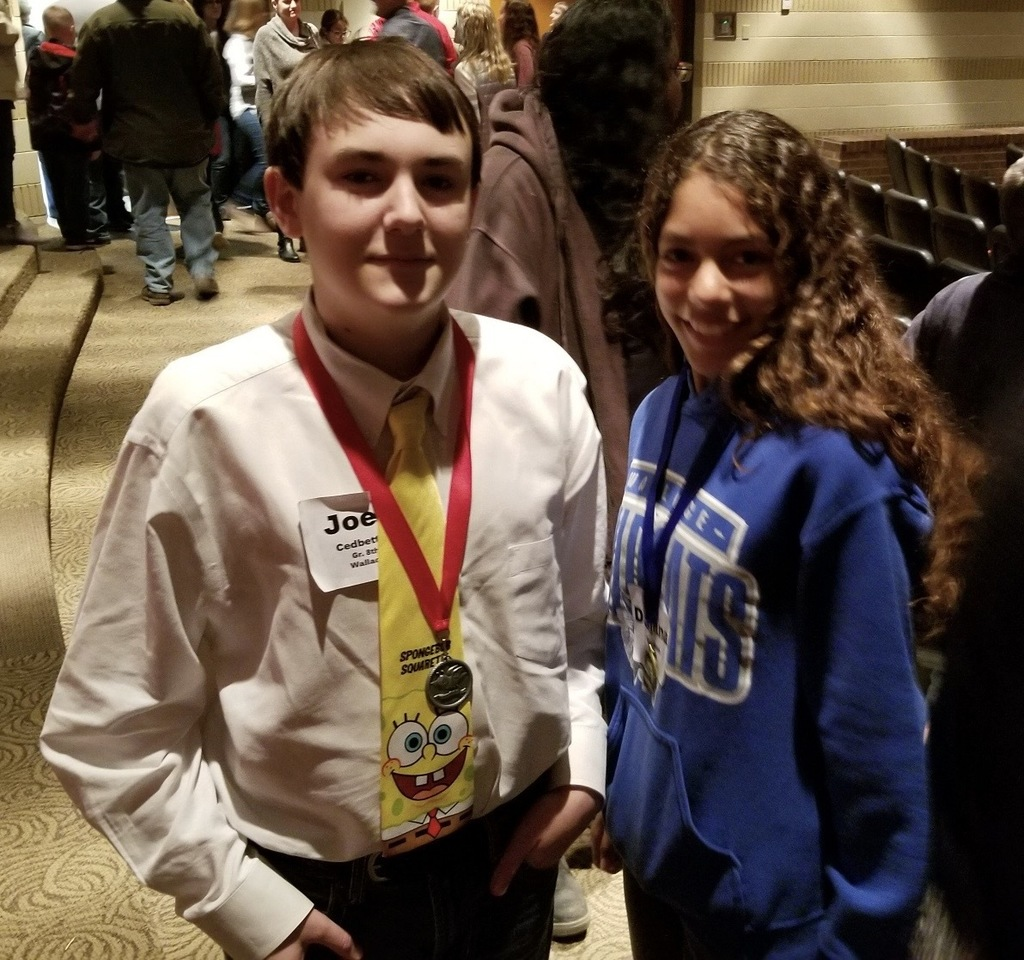 Joey (2nd place), Dajana (1st place)