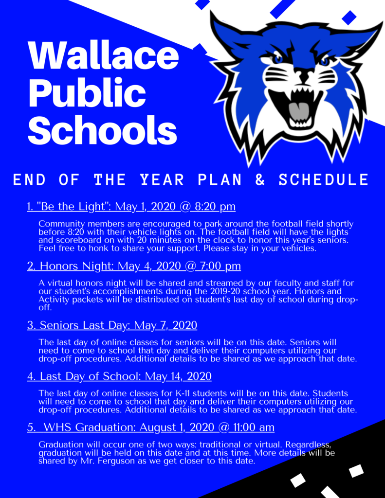 WPS - End of the Year Plan & Schedule