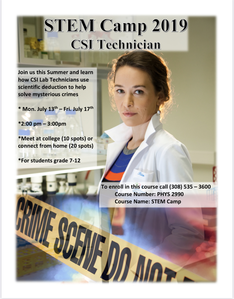 STEM CSI camp